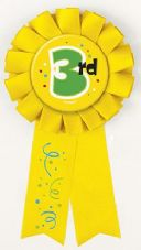 3rd Award Ribbon